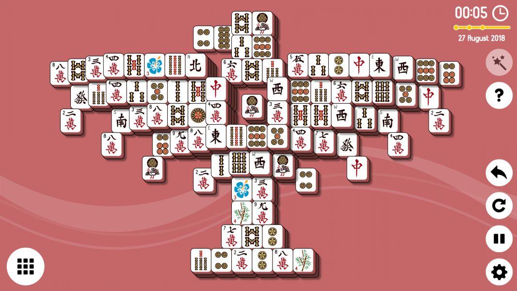 Level 2018-08-28. Online Mahjong Solitaire
