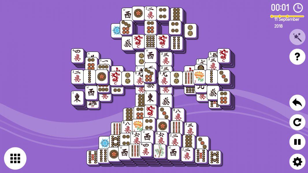 Level 2018-09-11. Online Mahjong Solitaire