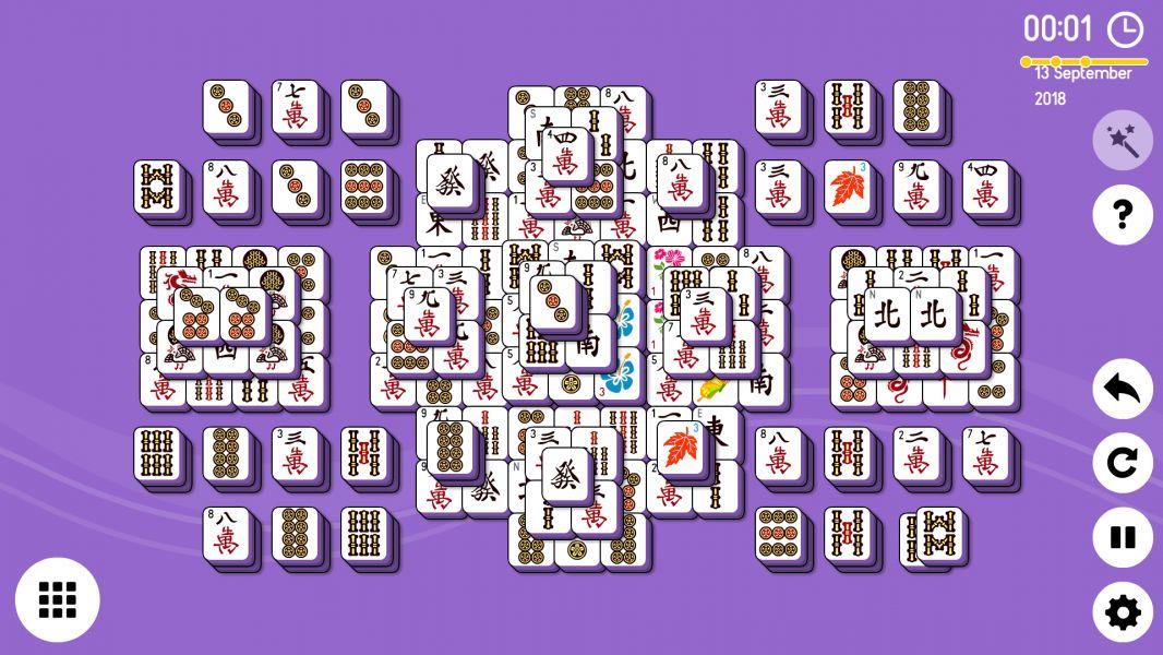 Level 2018-09-13. Online Mahjong Solitaire