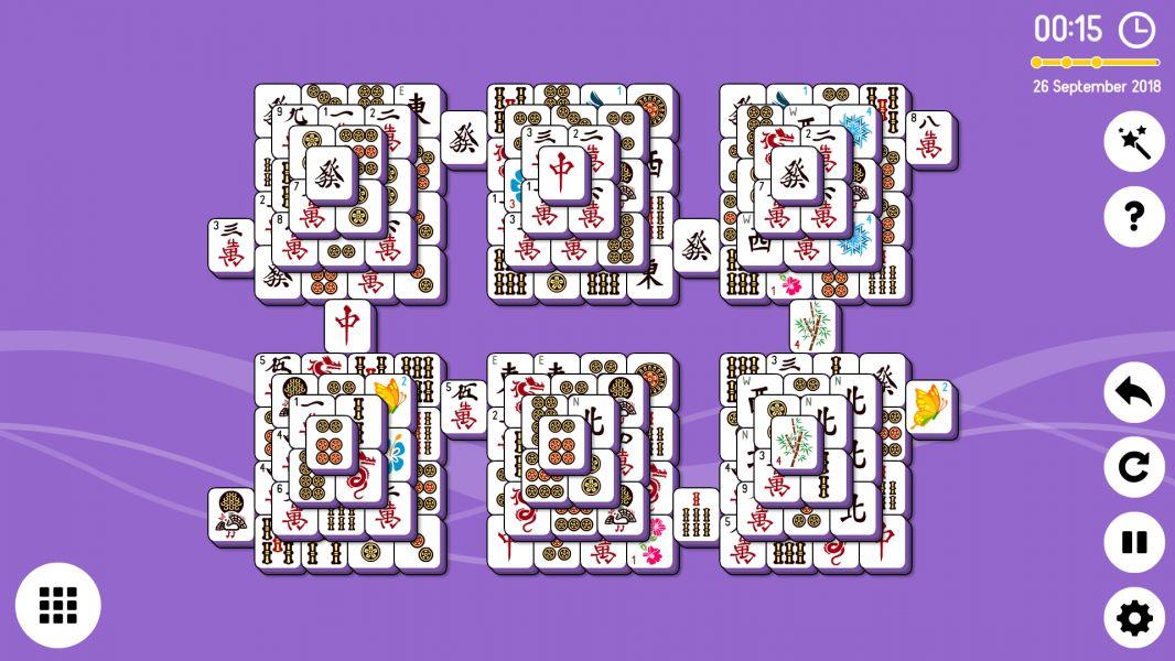 Level 2018-09-26. Online Mahjong Solitaire