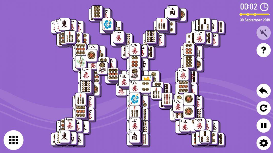 Level 2018-09-30. Online Mahjong Solitaire