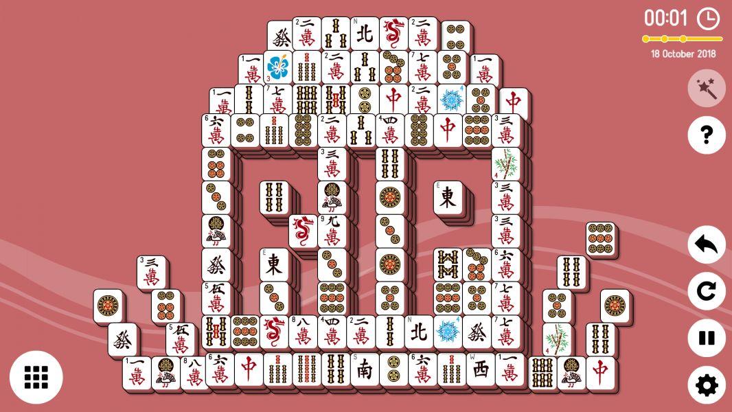 Level 2018-10-18. Online Mahjong Solitaire
