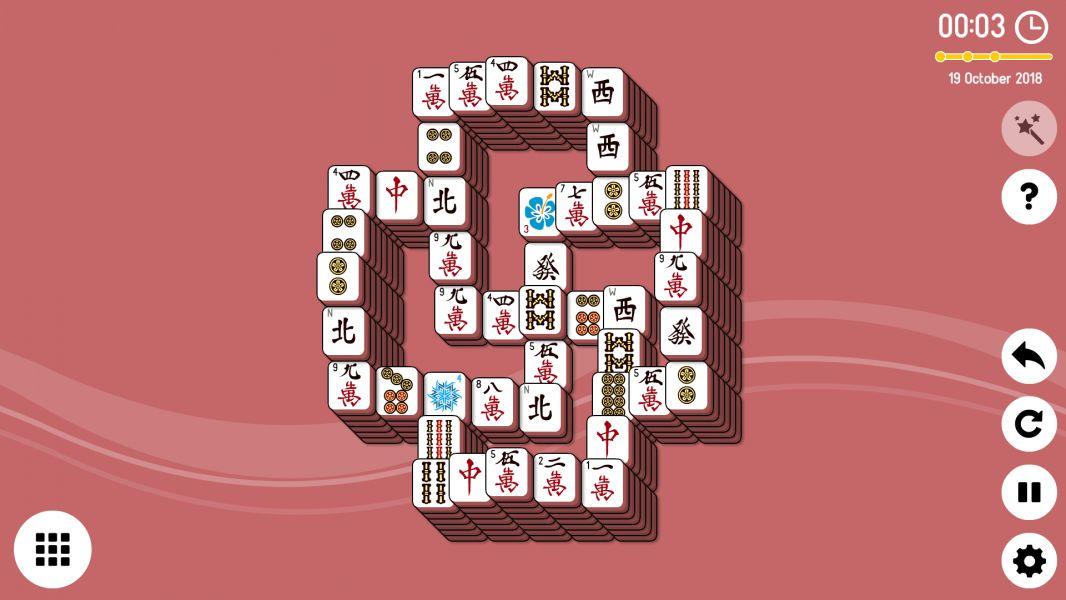 Level 2018-10-19. Online Mahjong Solitaire