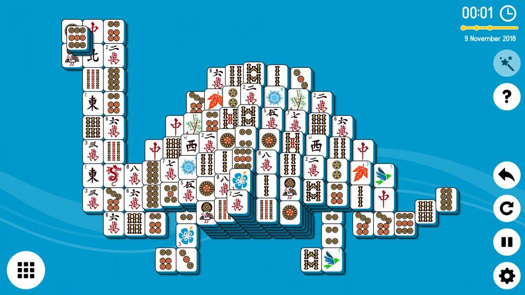 Level 2018-11-09. Online Mahjong Solitaire