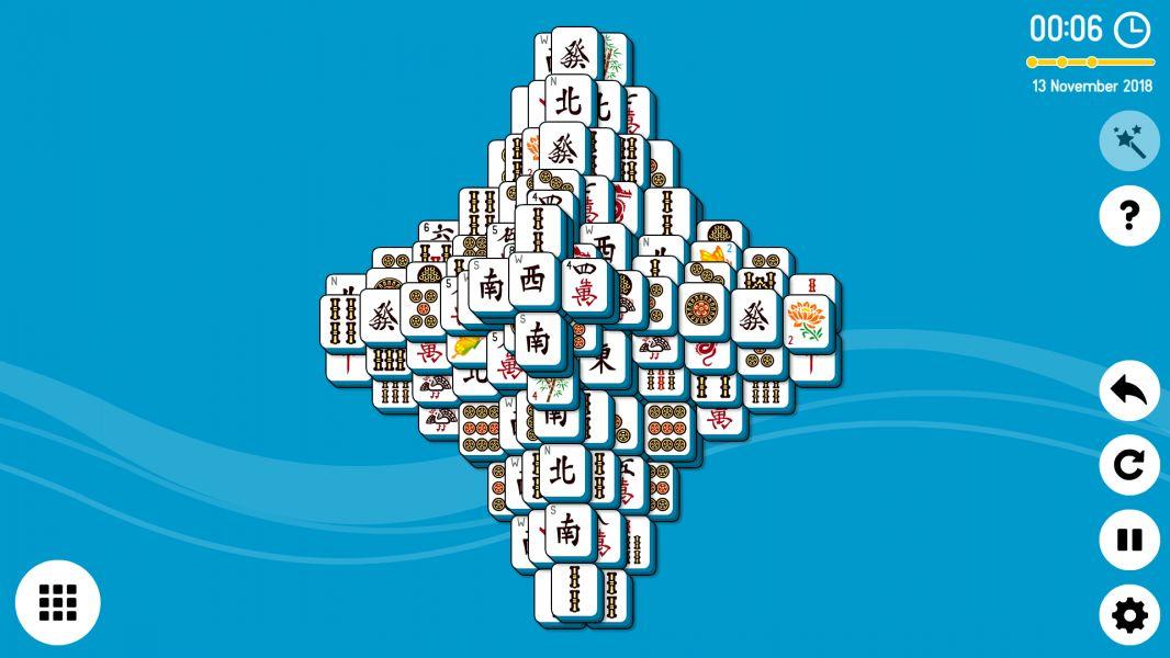 Level 2018-11-13. Online Mahjong Solitaire