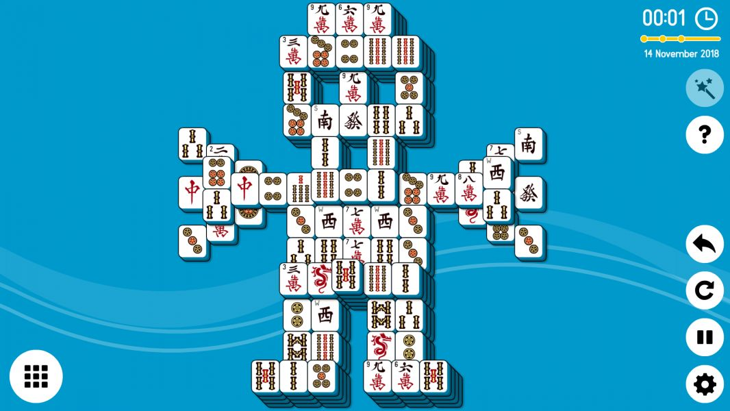 Level 2018-11-14. Online Mahjong Solitaire