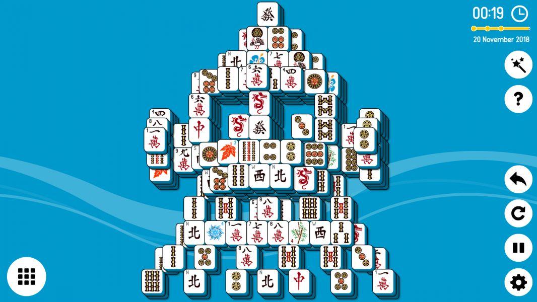 Level 2018-11-20. Online Mahjong Solitaire