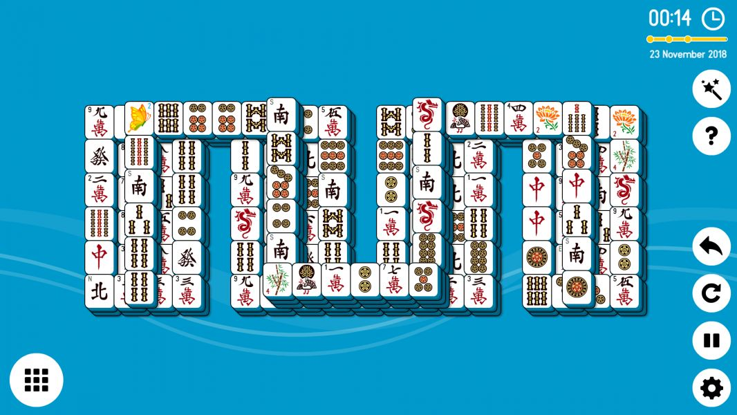 Level 2018-11-23. Online Mahjong Solitaire