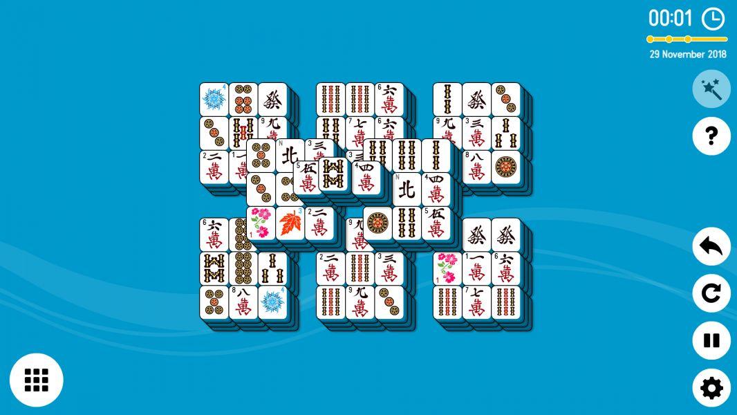 Level 2018-11-29. Online Mahjong Solitaire