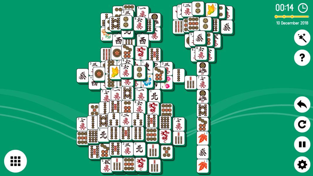 Level 2018-12-10. Online Mahjong Solitaire