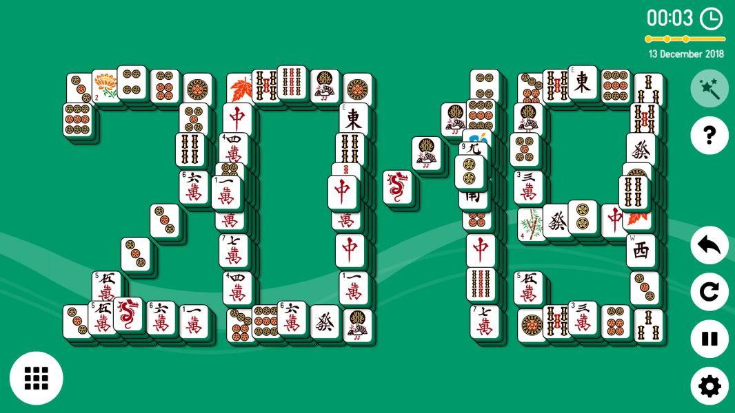 Level 2018-12-13. Online Mahjong Solitaire