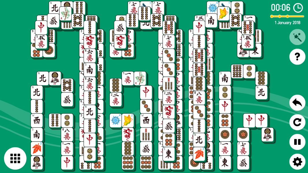 Level 2018-12-14. Online Mahjong Solitaire