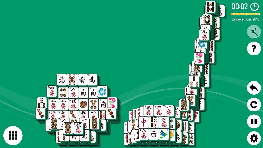Level 2018-12-22. Online Mahjong Solitaire