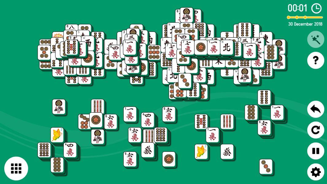 Level 2018-12-30. Online Mahjong Solitaire