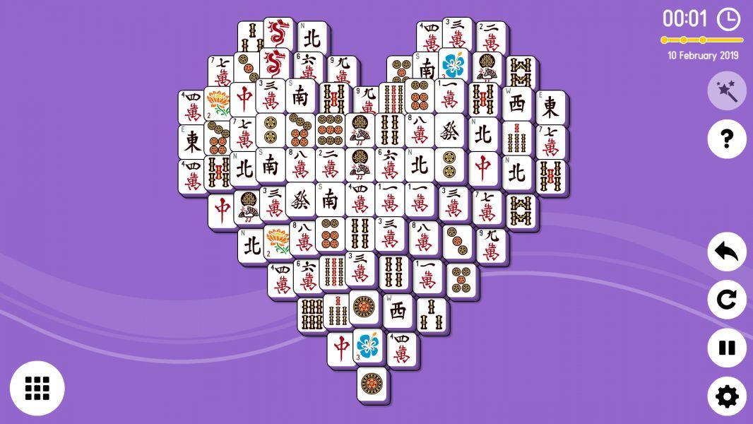 Level 2019-02-10. Online Mahjong Solitaire