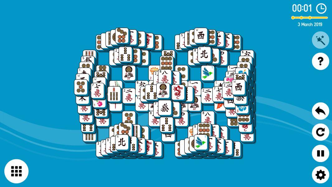 Level 2019-03-03. Online Mahjong Solitaire