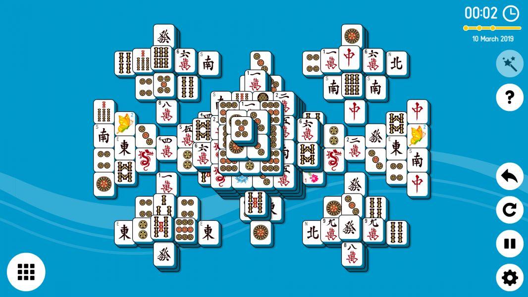 Level 2019-03-10. Online Mahjong Solitaire