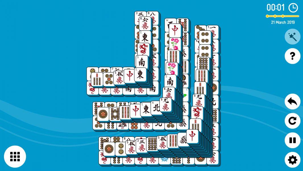 Level 2019-03-21. Online Mahjong Solitaire