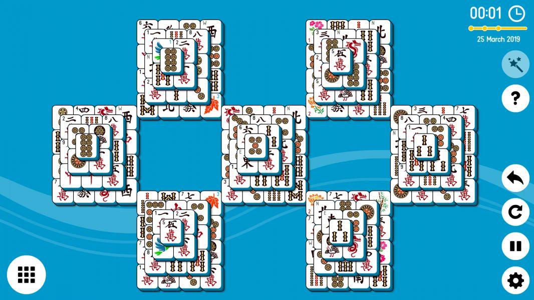 Level 2019-03-25. Online Mahjong Solitaire