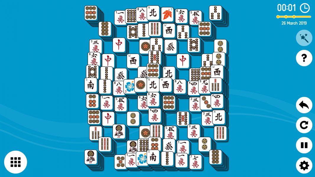 Level 2019-03-26. Online Mahjong Solitaire