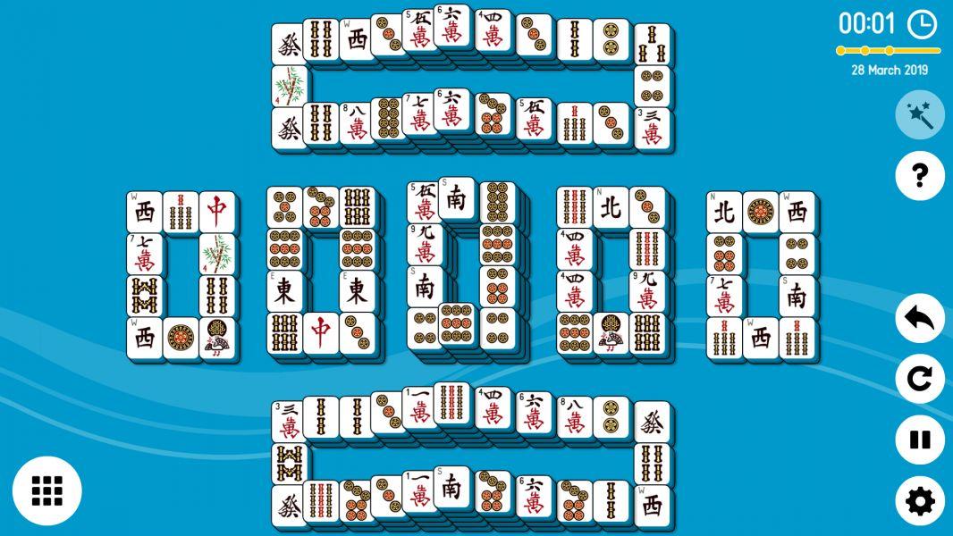 Level 2019-03-28. Online Mahjong Solitaire