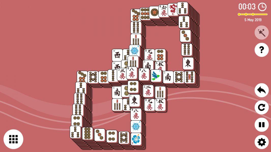 Level 2019-05-05. Online Mahjong Solitaire