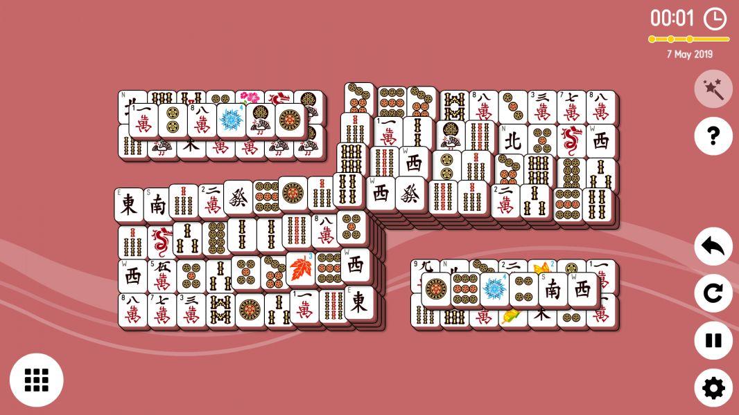 Level 2019-05-07. Online Mahjong Solitaire