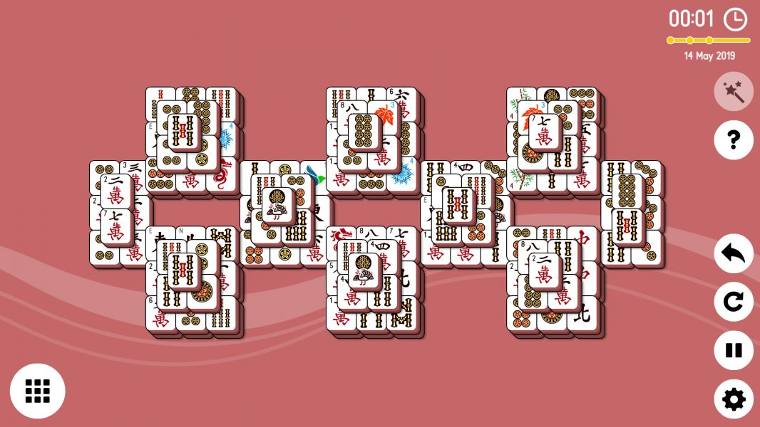 Level 2019-05-14. Online Mahjong Solitaire