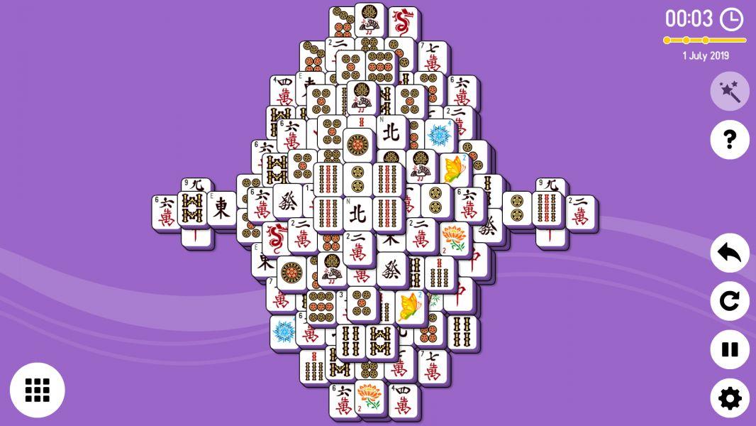 Level 2019-07-01. Online Mahjong Solitaire