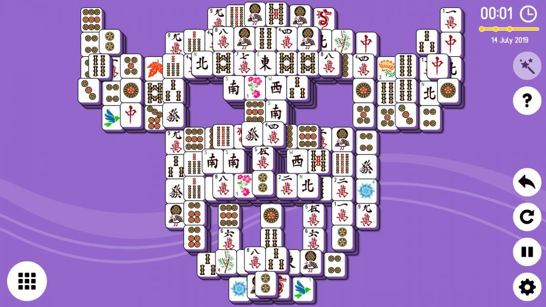 Level 2019-07-14. Online Mahjong Solitaire