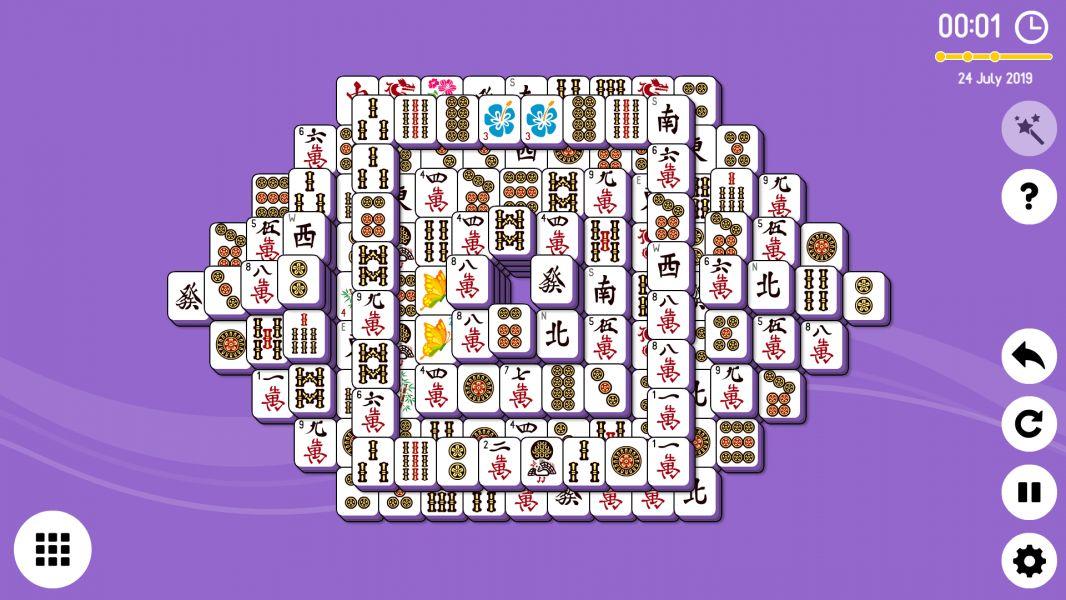 Level 2019-07-24. Online Mahjong Solitaire